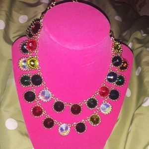 Natasha colorful stone necklace